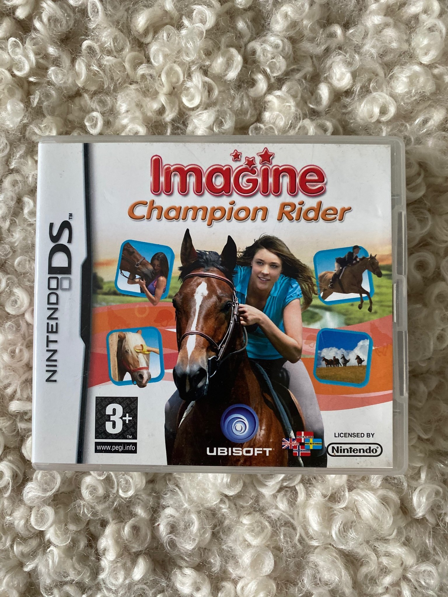 Hästpaket Imagine, I love horses, Horse life 4, 3ds Nintendo