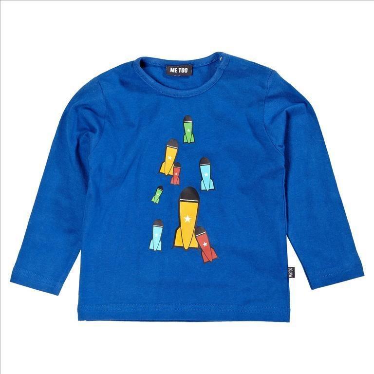 Nytt 98 3 år MeToo rymd tröja i bomull.. (173534543) ᐈ furuliull på ... a4f82eb26108a