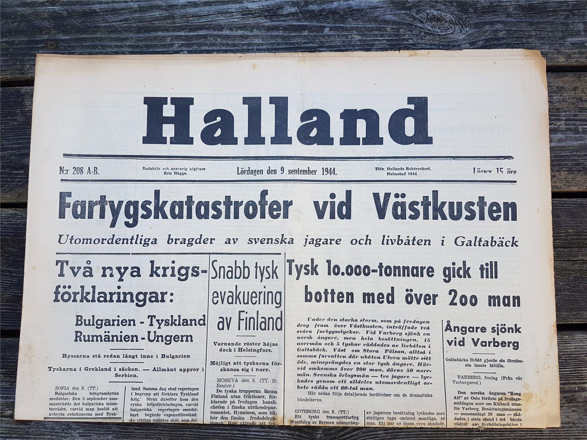 Norge och tyskland sista dagen