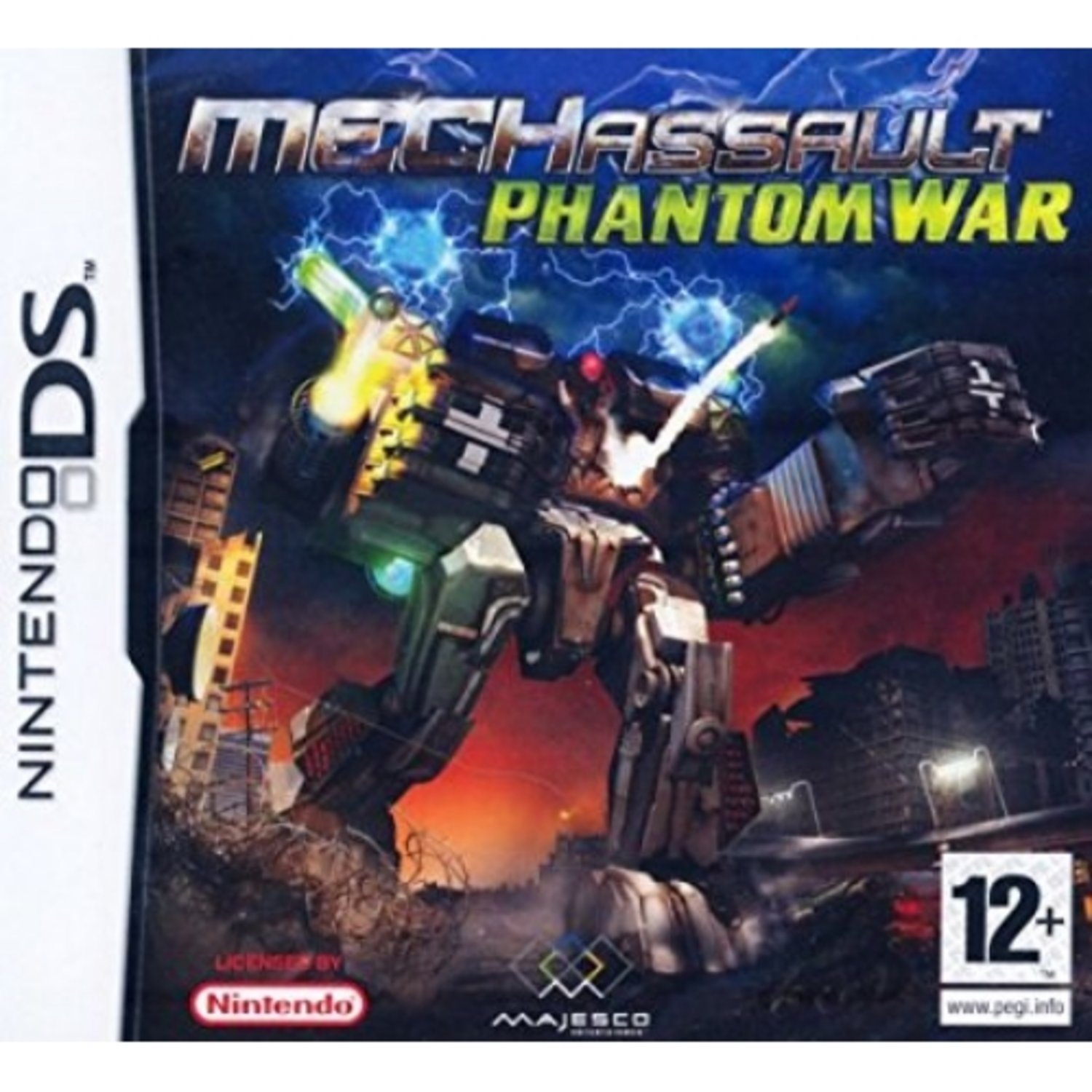 Mech Assault Phantom War - Nintendo DS