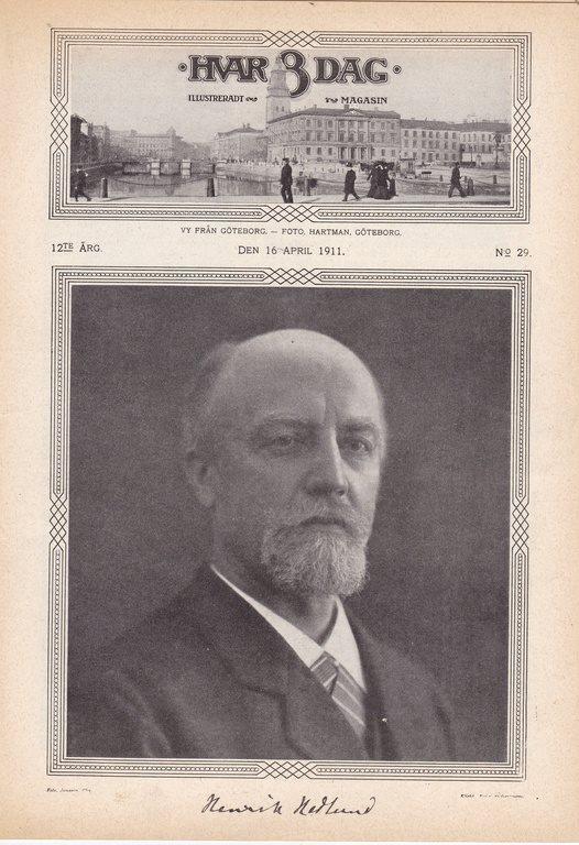 H-8-D 1911-29 Henrik Henrik Henrik Hedlund.Filipstad.Strömsund.Göteborg 1d85c0