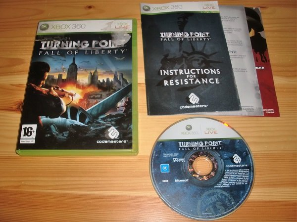 Xbox 360: Turning Point Fall of Liberty