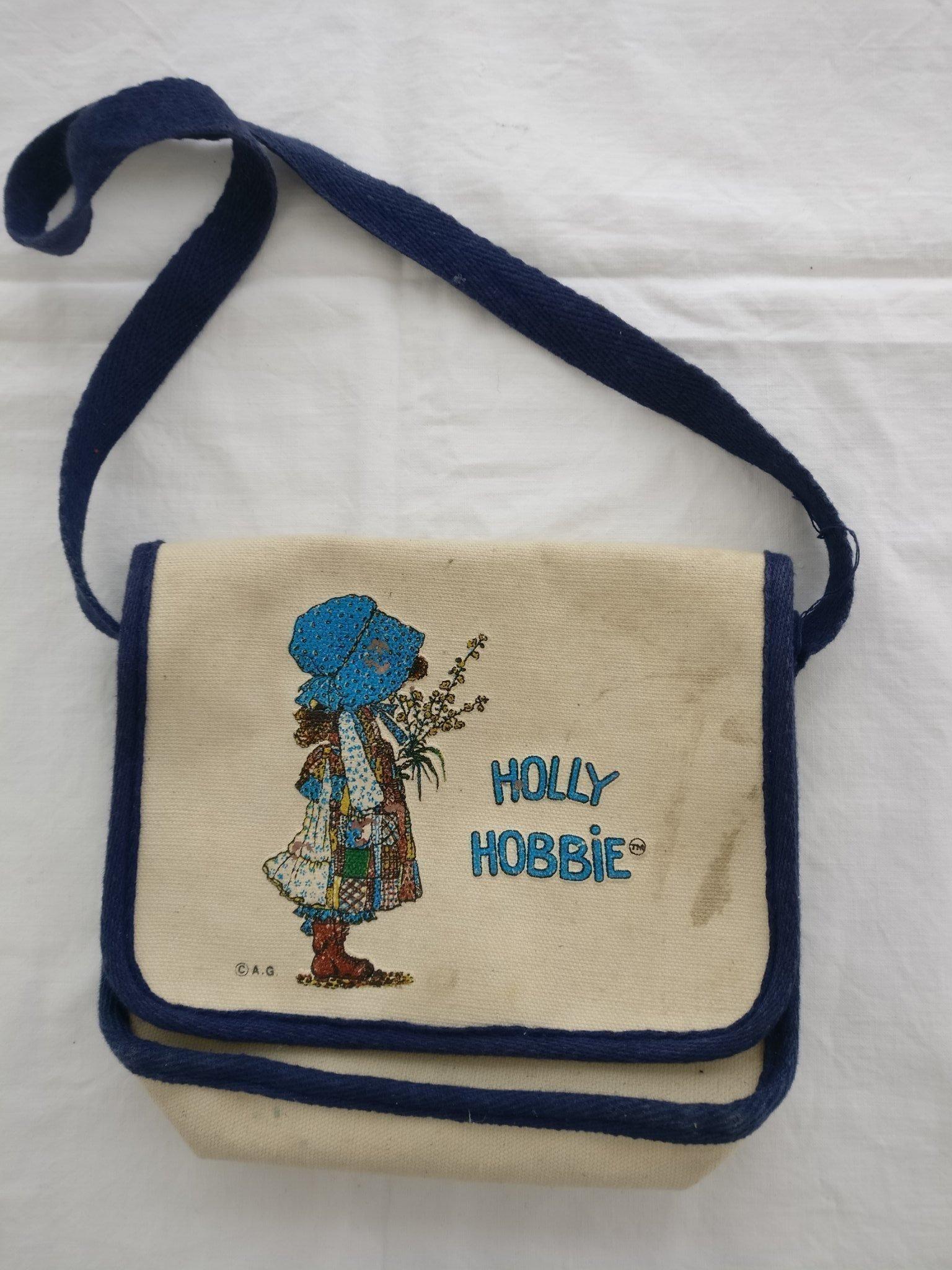 Fin Holly Hobby väska sent 70 tal tidigt 80 tal