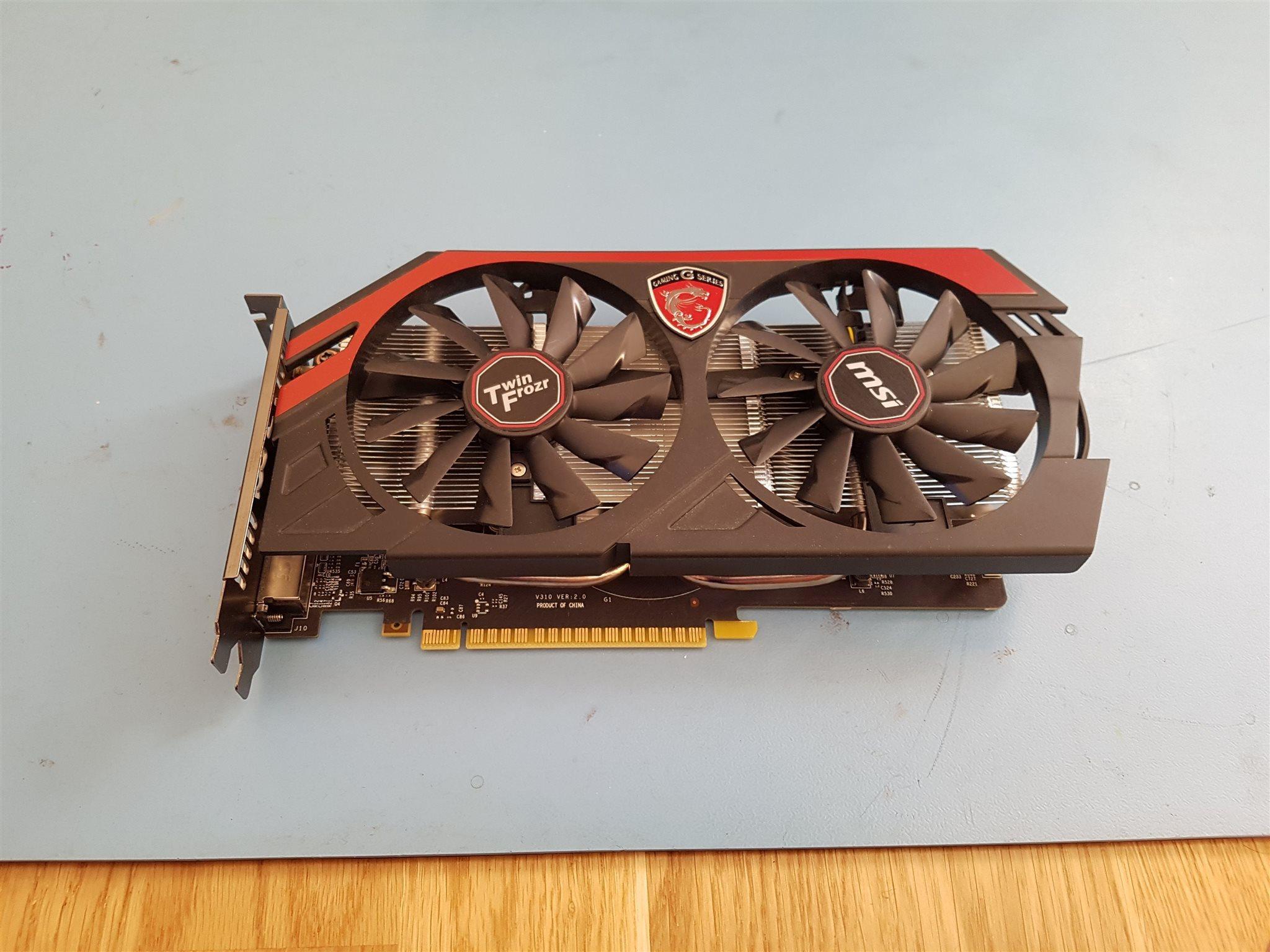Msi Geforce Gtx 750 Ti Twin Frozr Oc 2gb 325287790 Kp P Tradera Gaming