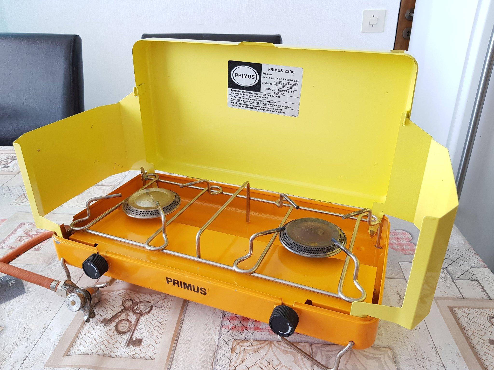 Primus 2396 gasolkök campingkök (354309578) ᐈ Köp på Tradera