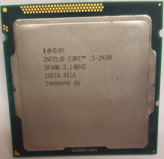 Intel Core i5-2400 3.10GHz SR00Q Processor Socket 1155 QUAD Core Computer CPU