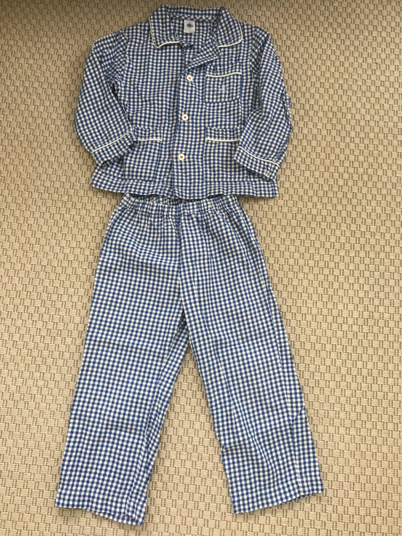 Ljuvlig pyjamas från Petit Bateau strl 102 4år (337627614) ᐈ Köp på ... 36a583a7005c8