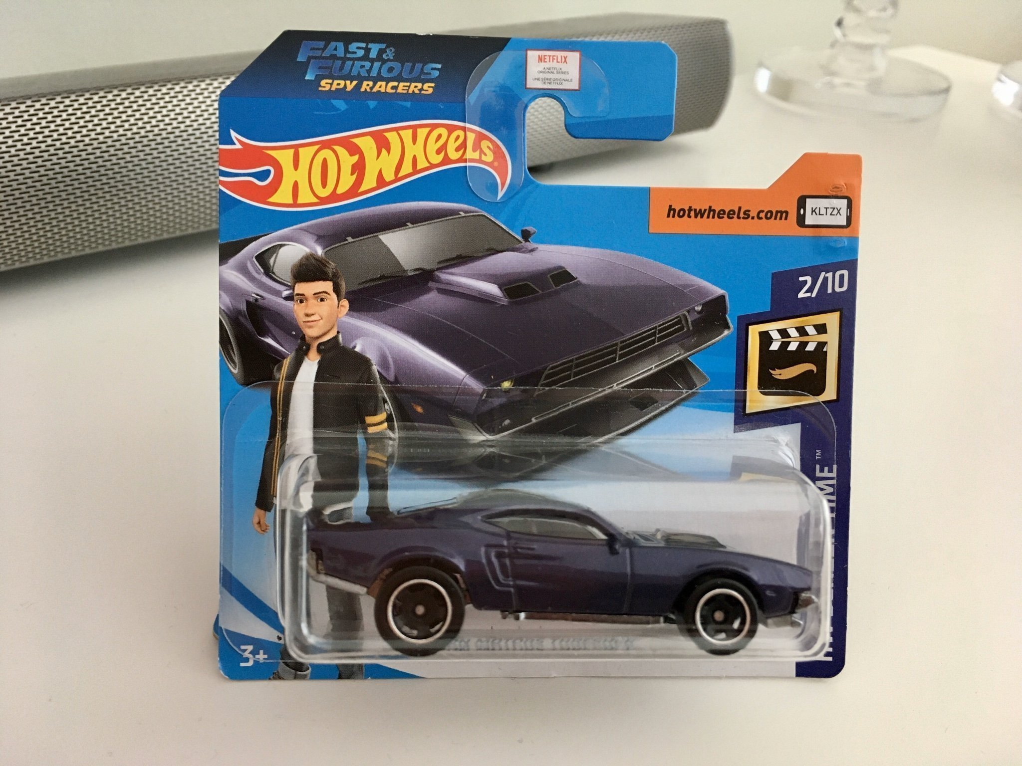 Hot Wheels FAST AND FURIOUS SPY RACERS ION MOTORS THRESHER