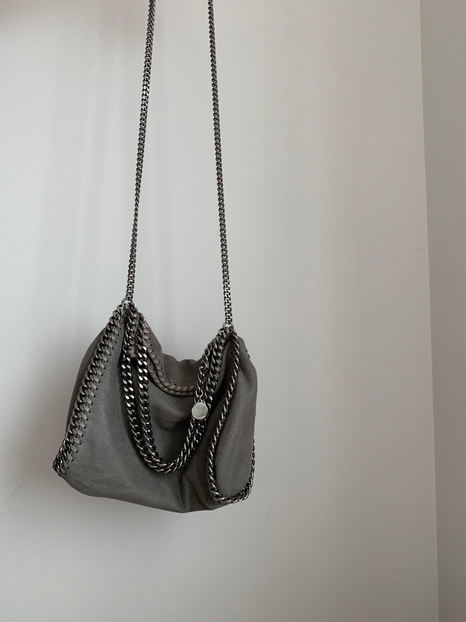 stella mccartney väska grå