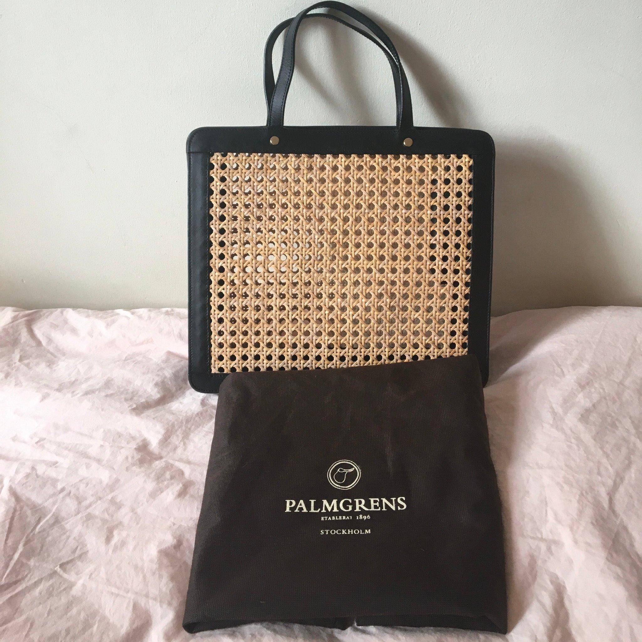 Väska i rotting från Palmgrens