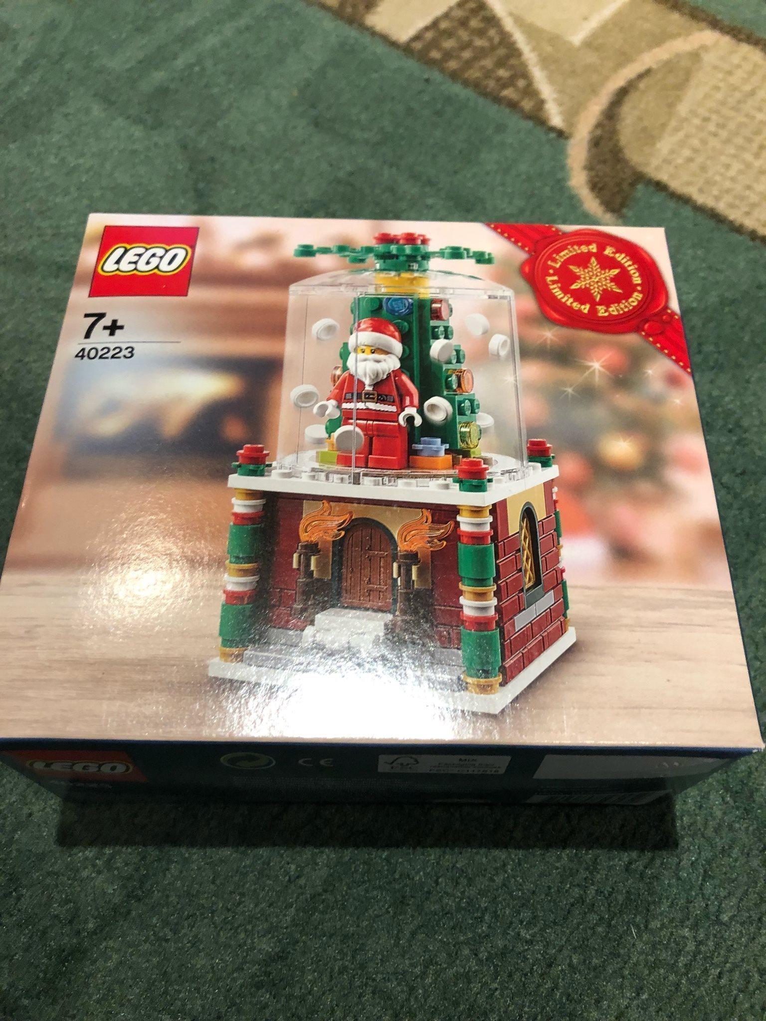Promo Lego 40223 Snowglobe Terbaru 2018 Yong Ma Mc 5700 15l Magic Com Digital Pemanas 3d Helt Ny 318537047 Kp P Tradera