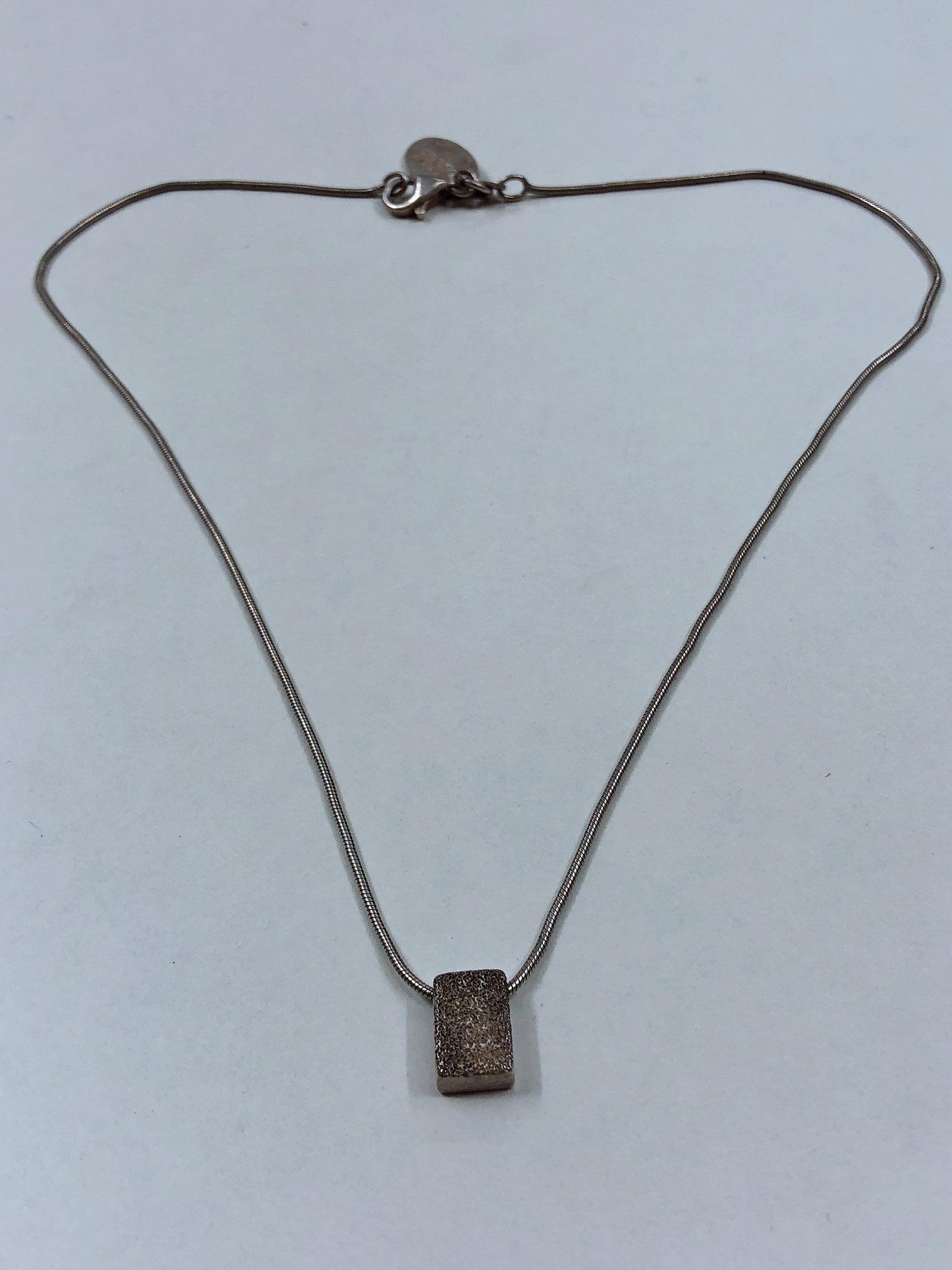 Silver halsband 925 scoop (330155410) ᐈ Hilojewellery på Tradera b2c4b30da89d4