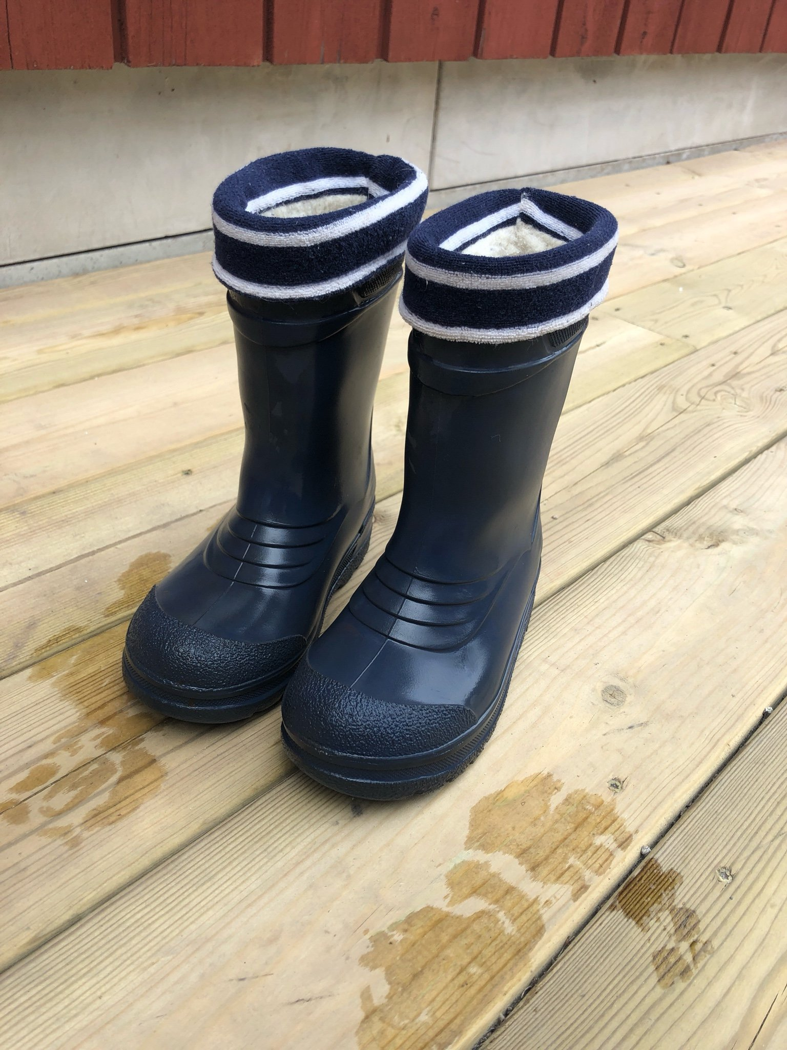 f2a58d73127 Polarn O. Pyret insulated rubber boots 26 (348818035) ᐈ Köp på Tradera
