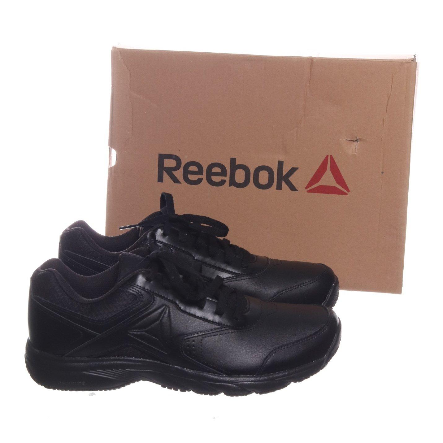 Reebok, Sneakers, Strl: 43, Work n Cushion 3.0, Svart, Skinn