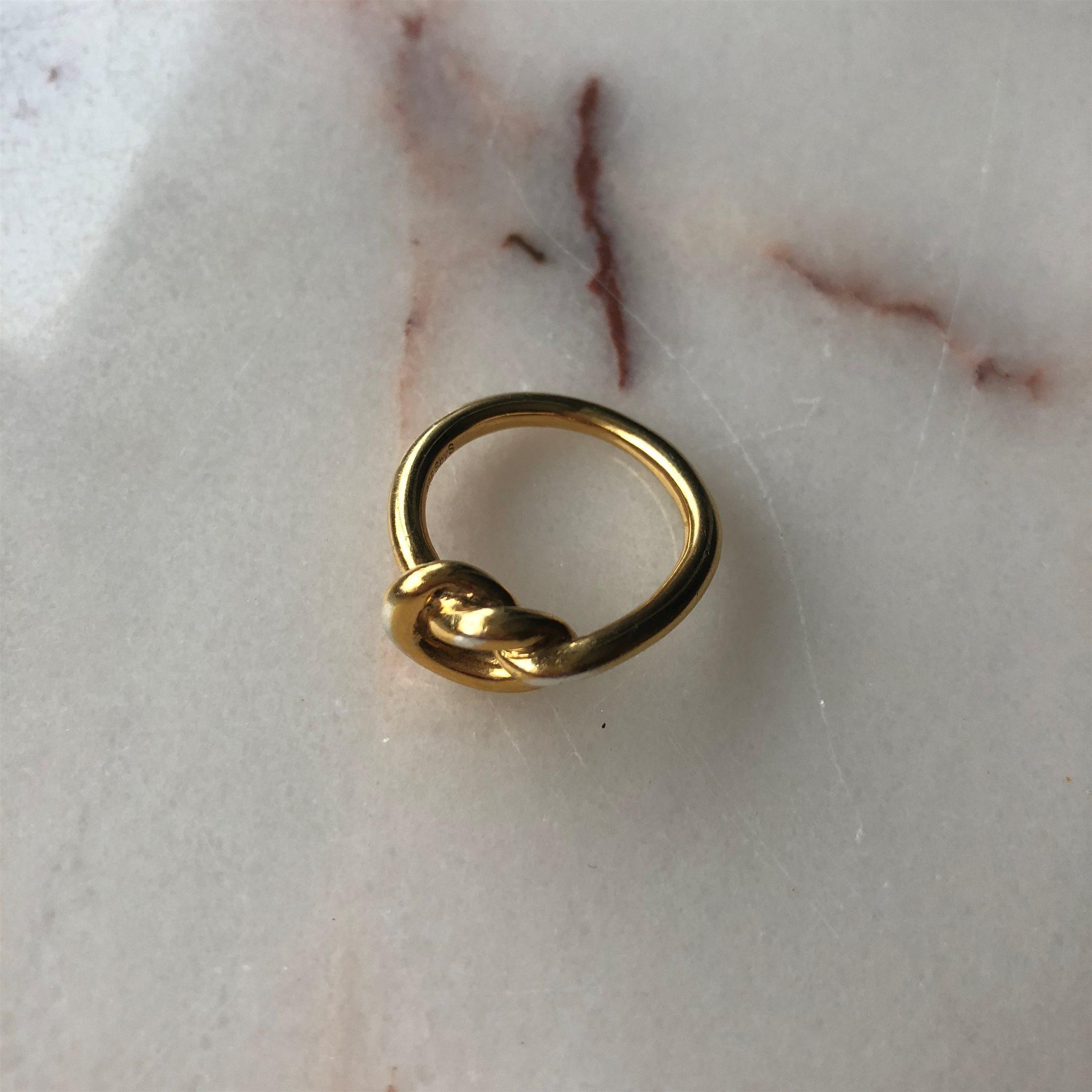 Sophie by Sophie knot ring guld (336487566) ᐈ Köp på Tradera 2ef8739723788