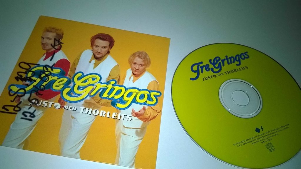 Fre Gringos - JustD med Thorleifs, single CD