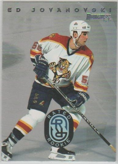 DONRUSS 95-96 Rated Rookie  # 07 JOVANOVSKI Ed