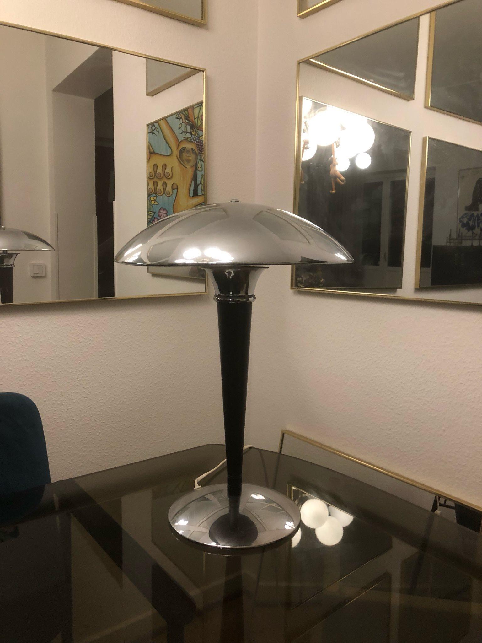 Lampa 90 Tal Art Deco Stil Crom Retro 334996910 ᐈ Kop Pa Tradera