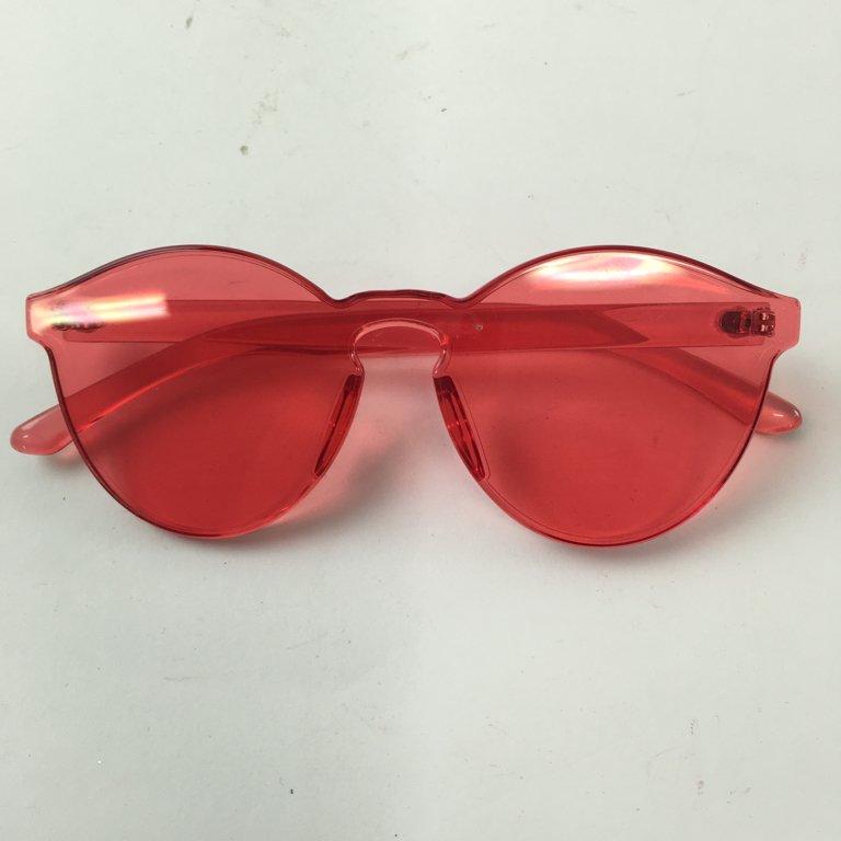 Glitter, Solglasögon, Röd