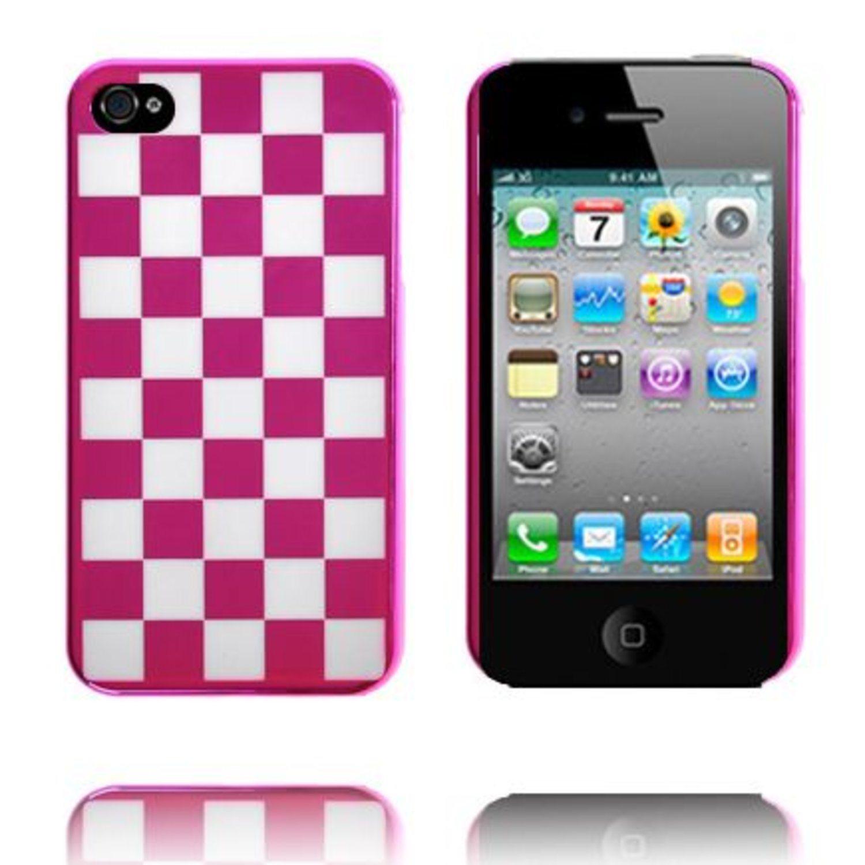 ChromeChess (Rosa) iPhone 4 4S Skal (266422367) ᐈ WePack på Tradera 648d70ae9b1f8