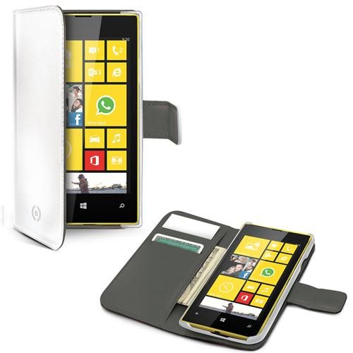 Wallet Case Lumia 530 Vit