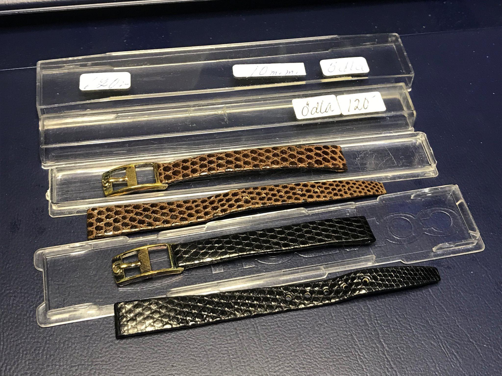 klockarmband läder omega