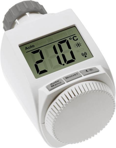Elektronisk termostat til radiator