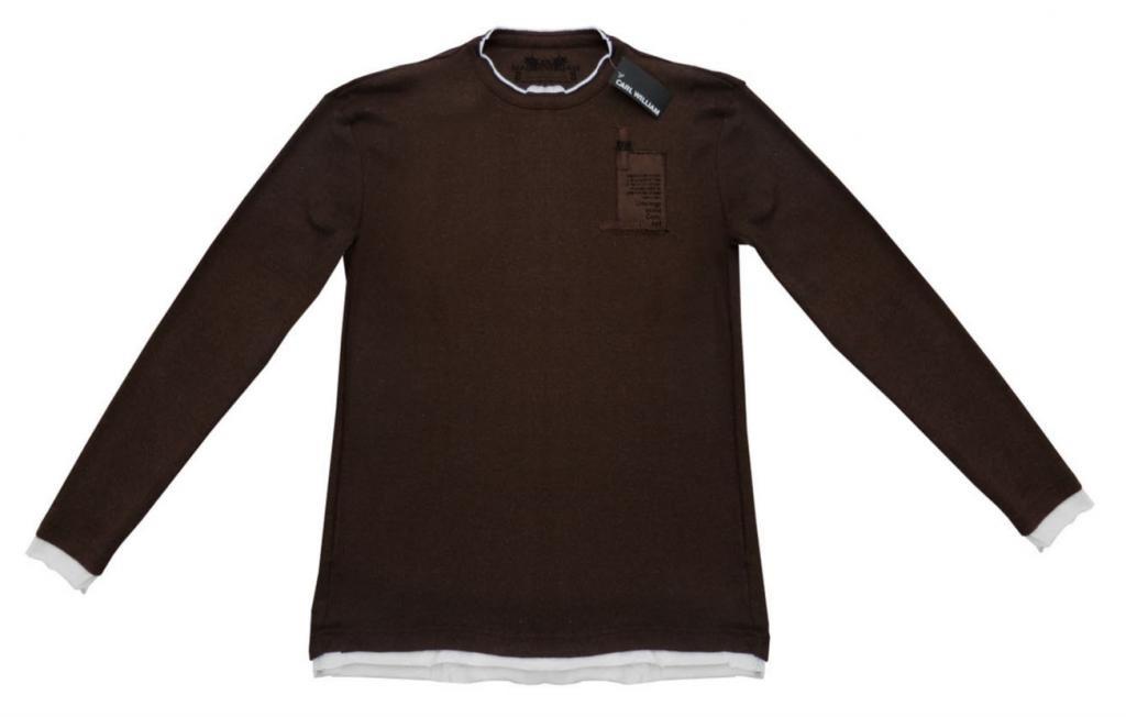 FRI FRAKT - Långärmad t-shirt, stl L, CARL WILLIAM