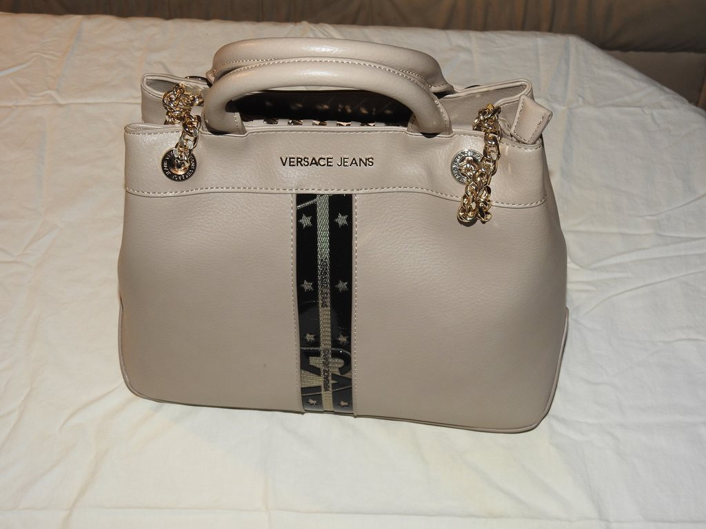 Versace Jeans - Handväska (Ljusbeige)