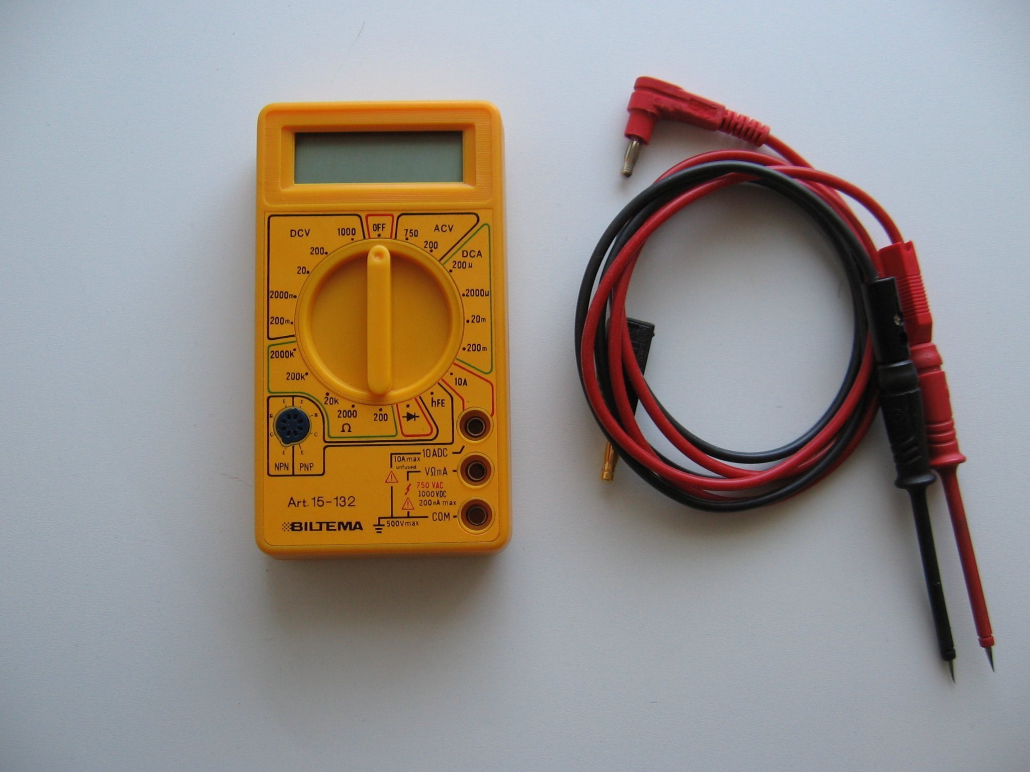 Biltema multimeter