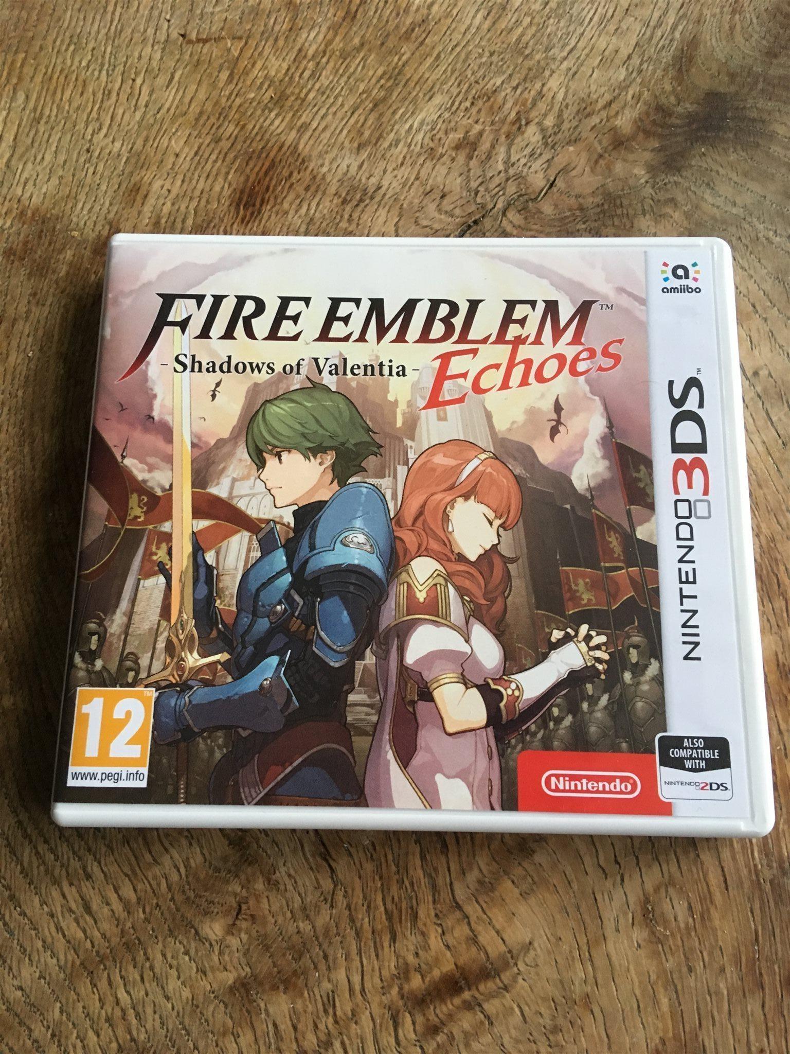 Fire Emblem Echoes Shadows Of Valentia Ninten 325063004 Kp 3dsfire Shadow Nintendo 3ds