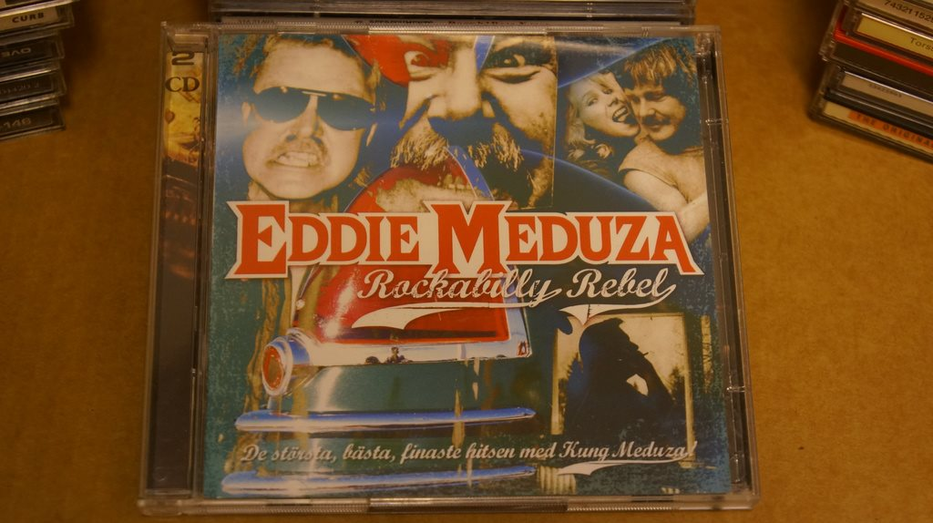 EDDIE MEDUZA - ROCKABILLY REBEL (CD)
