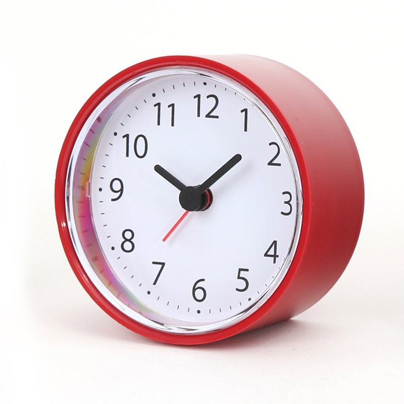 PLATINET CLOCK ALARM CLOCK SUNDAY/RED