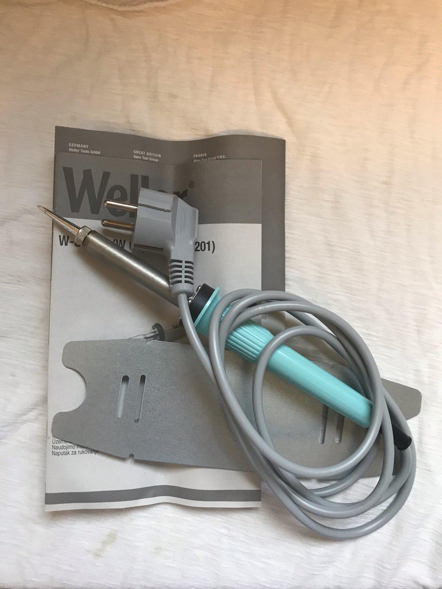 Strålande Lödkolv Weller W 61 Electric Soldering Iron, 60W (360260439) ᐈ XO-67
