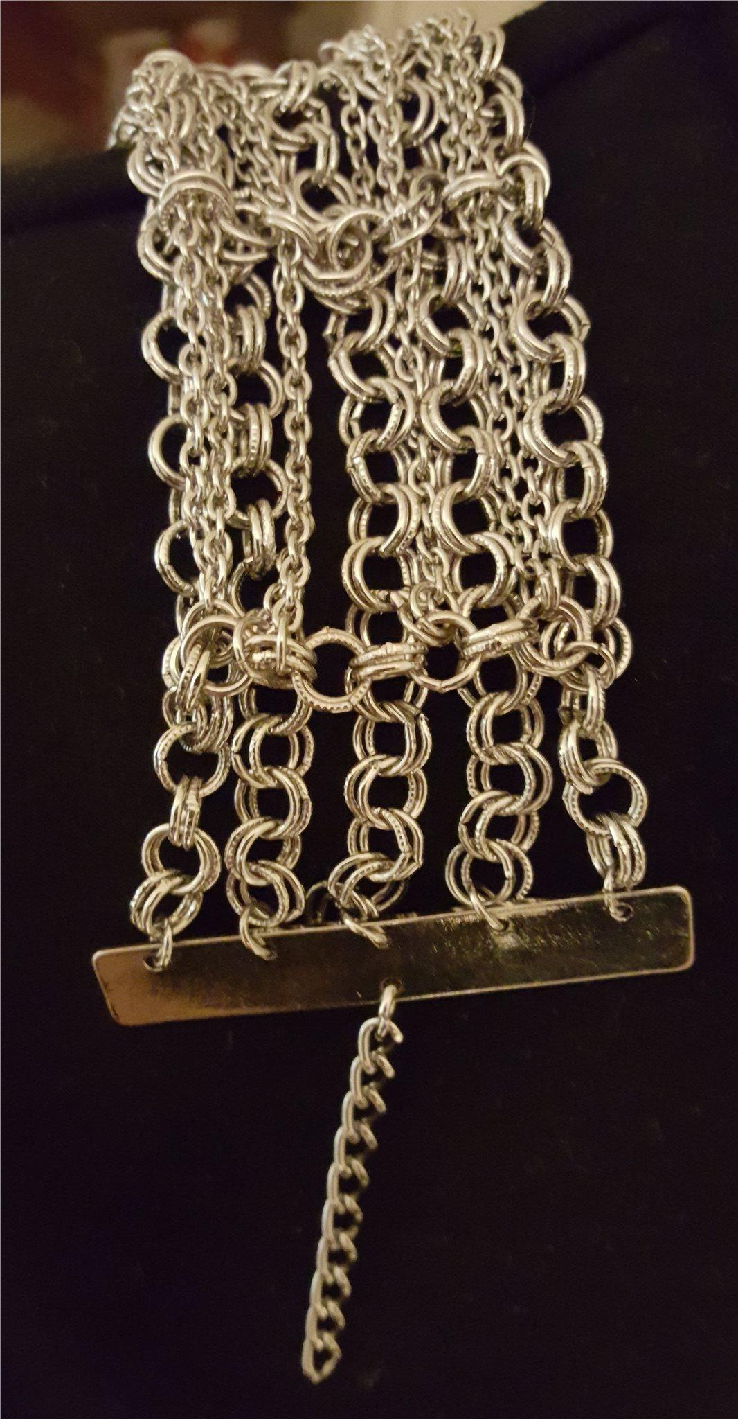 Armband brett silverfärgat (337403610) ᐈ Köp på Tradera 8345e2c99c26b