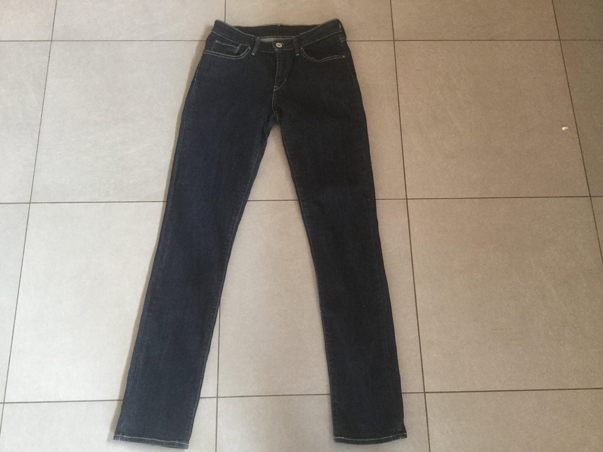 32c9aec5333 Levis jeans blå strl W27L34 (350423936) ᐈ Köp på Tradera