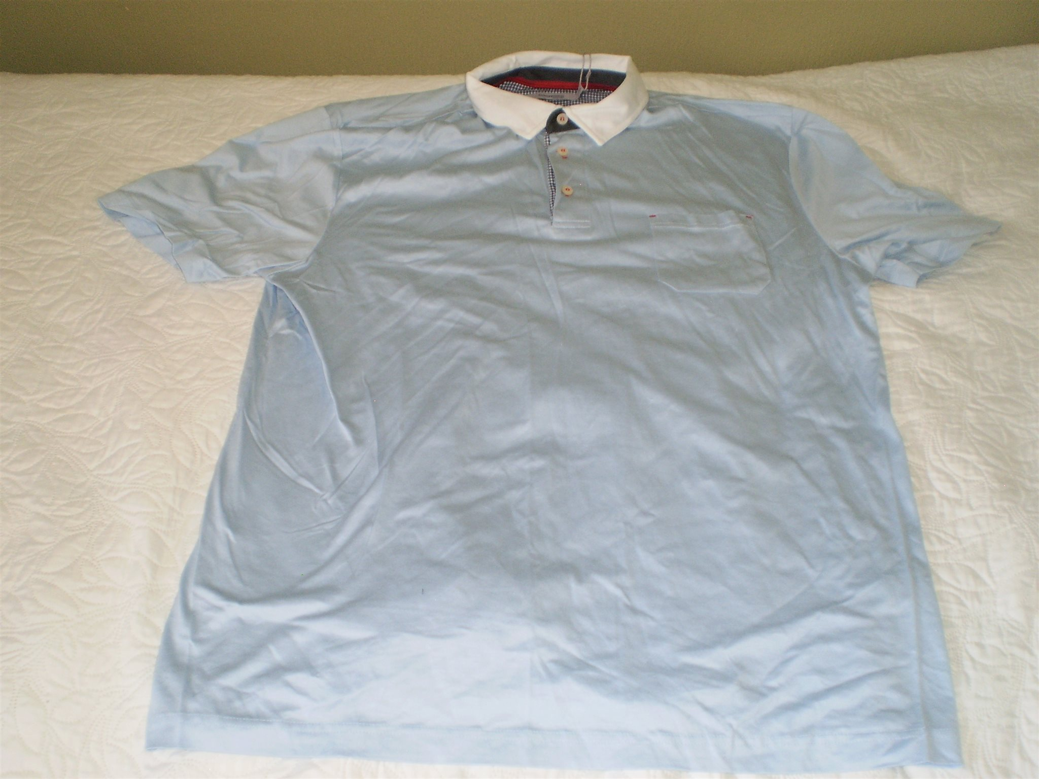 Kjorta ljusblå kortärmad  stl stl stl XL 1f56a1