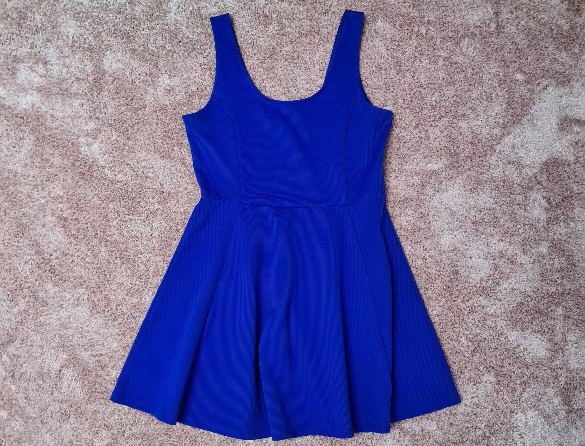 NY Royal Blue klänning storlek 42 blå hav.. (427086689