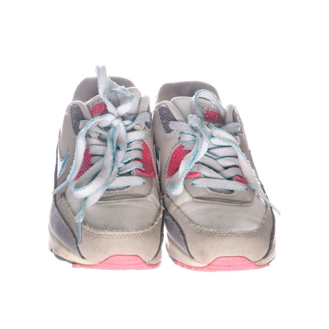 nike skor grå rosa