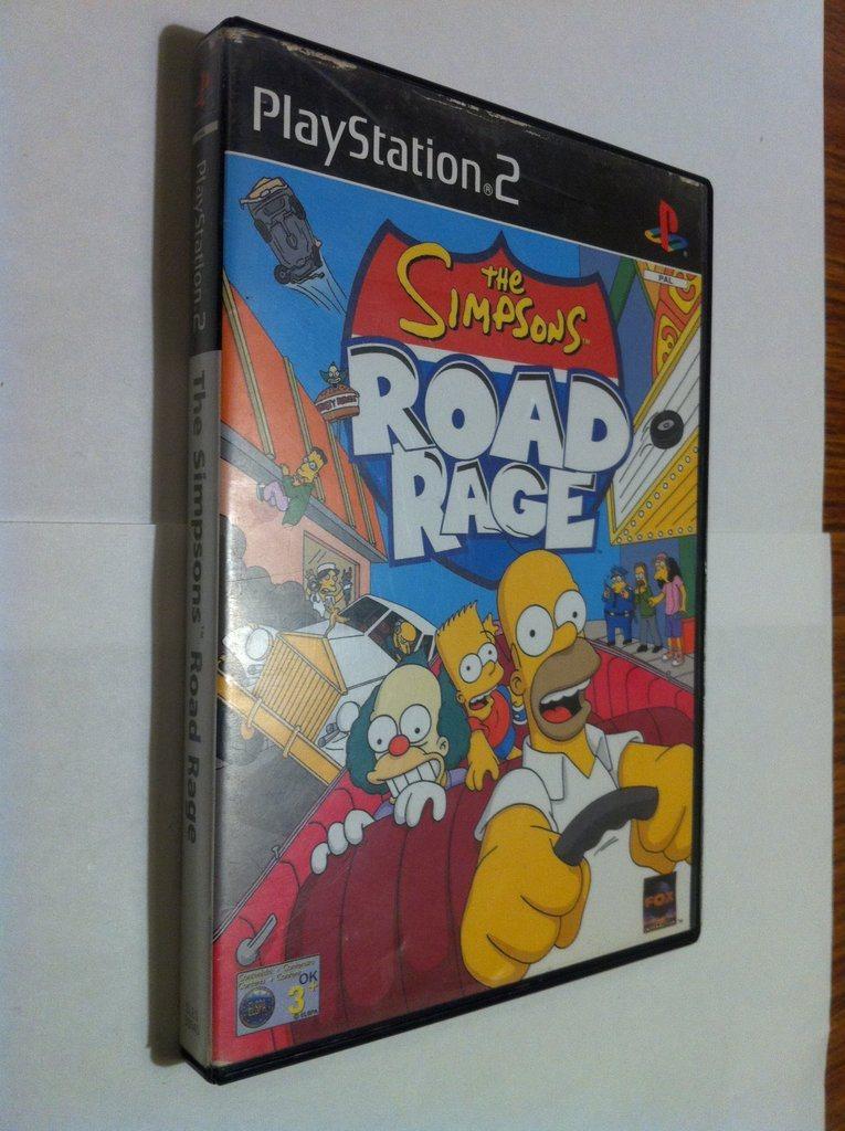 PS2: The Simpsons: Road Rage (337821561) ᐈ Köp på Tradera
