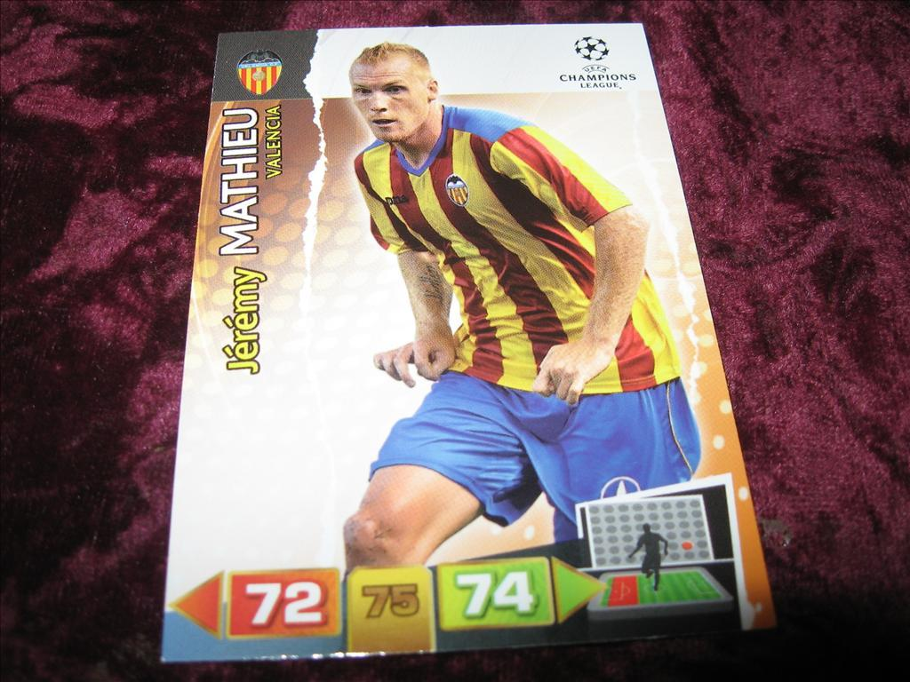 JEREMY MATHIEU-VALENCIA-UEFA CHAMPIONS LEAGUE 2011/2012