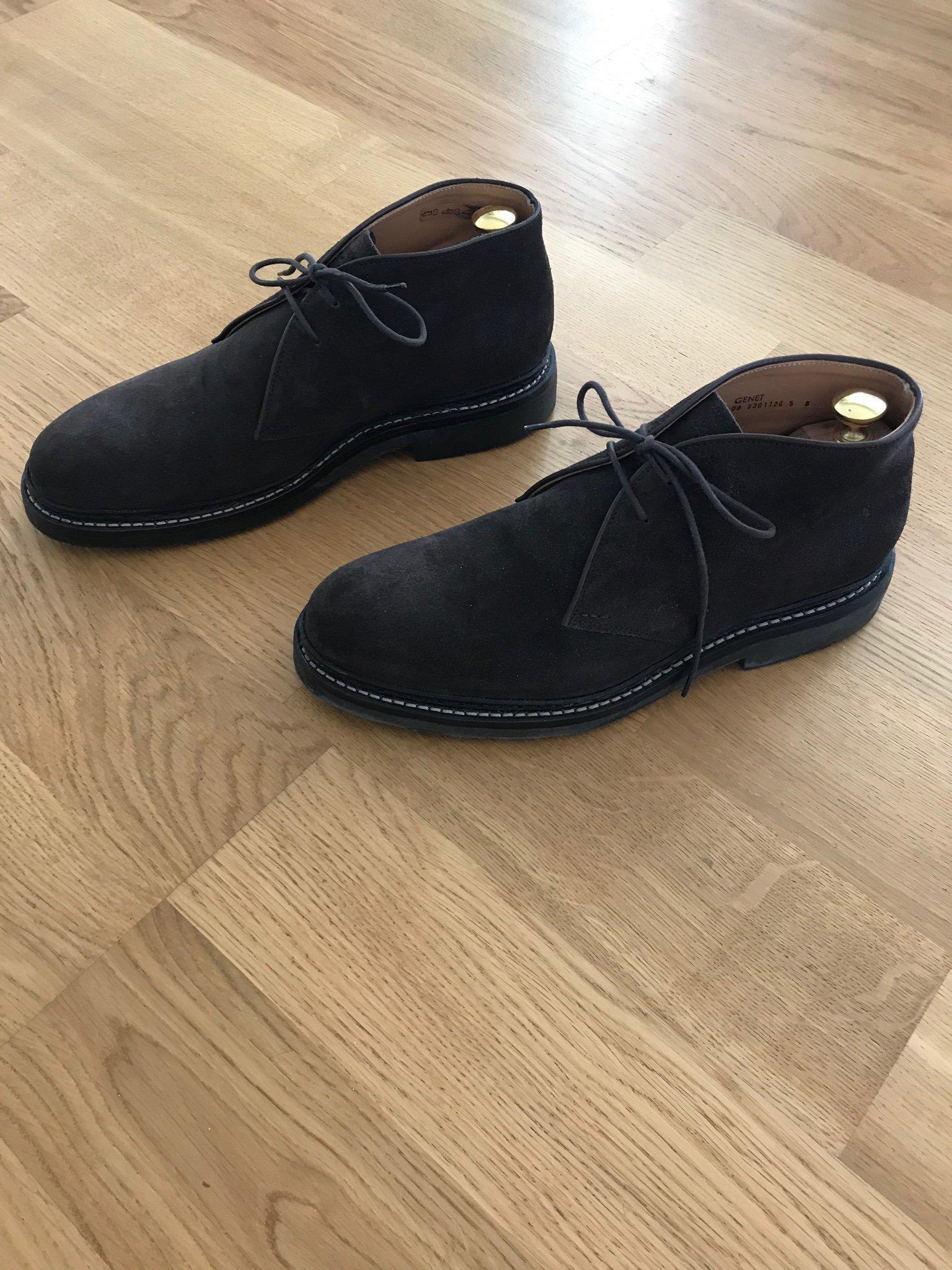 Heschung Genet chukka boot dark Brown Suede UK8 42