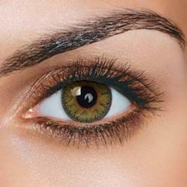 färgade linser kontakt