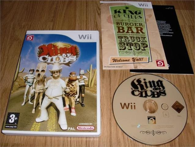 Wii: King of Clubs