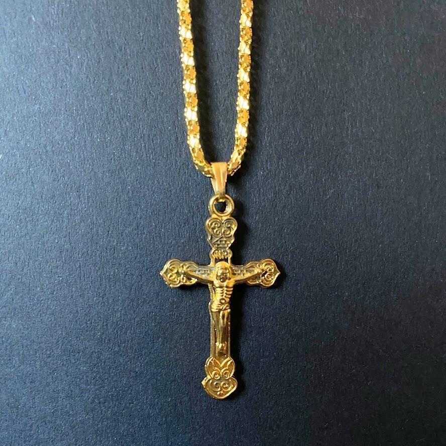 jesus kors halsband