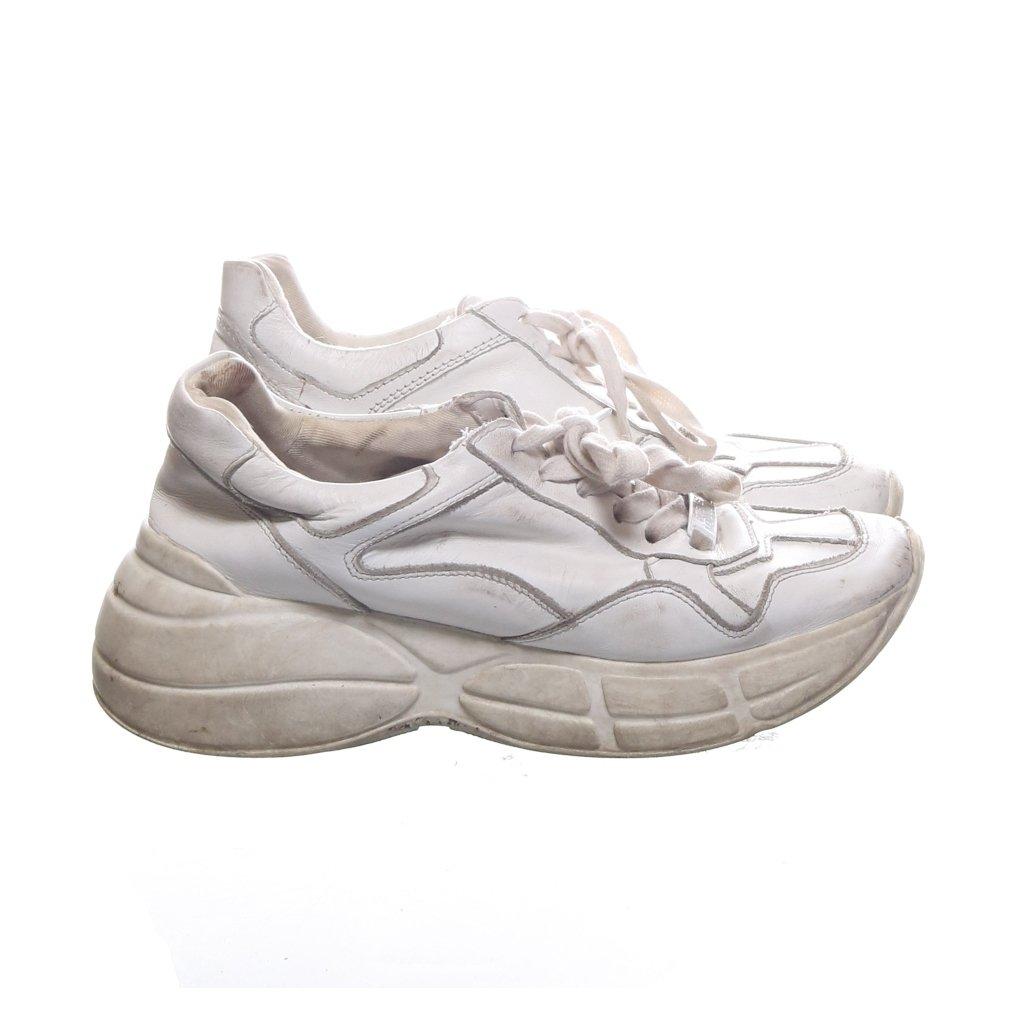 Steve Madden, Sneakers, Strl: 37, Skinn, Vit