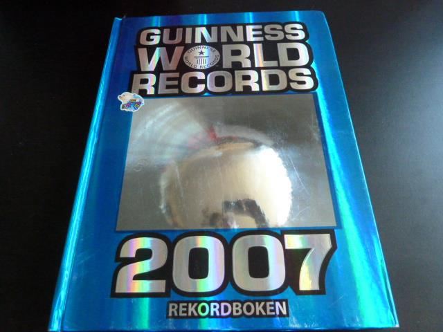 GUINNESS WORLD RECORDS 2007,  BÖCKER