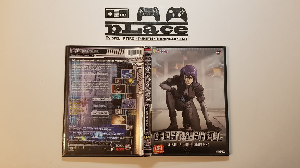 Ghost In The Shell: Stand Alone Complex - Volym 4 DVD