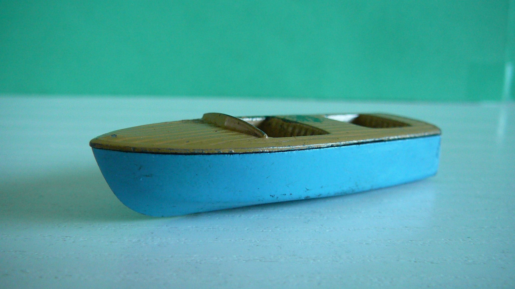 Meteor Sportsman Boat - Matchbox Lesney No. 48a - Eftertraktat model