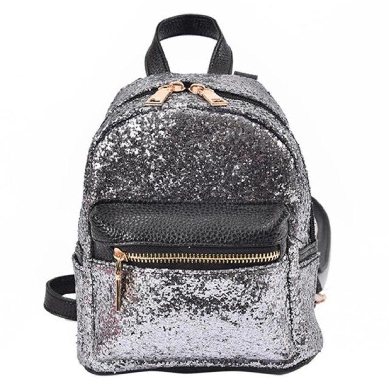 Ryggsäck Fashion PU Leather Bling Backpa.. (314324229) ᐈ Fyndify på ... 655fdd5b53a8d